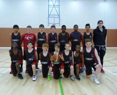 First Year Basketball 2014-5